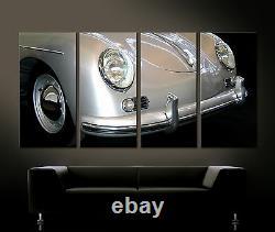 Vintage Avant Détails Porsche 356 Speedster Art Toile Peinture Art Image 60er
