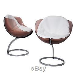 Vintage, space age chairs, sphère model, Boris Tabacoff, lucite, plexiglass