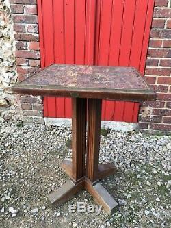 Vintage table bistro bistrot 1900 FISCHEL vintage table