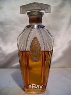 Vivaudou Mavis Flacon De Parfum Art Nouveau 1915 Vintage Perfume Bottle